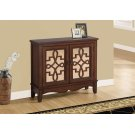 ACCENT CHEST - DARK WALNUT / MIRROR TRADITIONAL STYLE Product Image