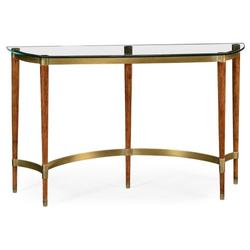 Hyedua & Glass Console Table