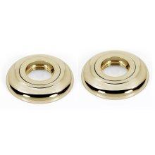 Royale Grab Bar Brackets A6624 - Polished Brass
