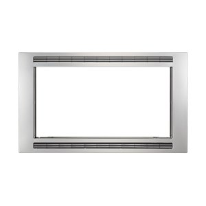 Black/Stainless 30'' Microwave Trim Kit -