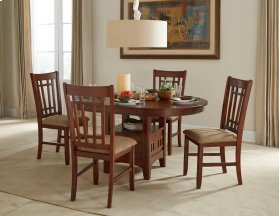 Mission Casuals Dining Table with Box Base