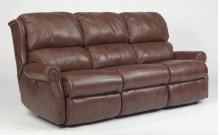 Comfort Zone Leather Power Reclining Sofa