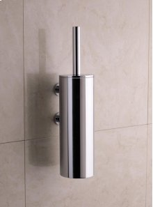 Toilet brush holder for wall mounting - Grey