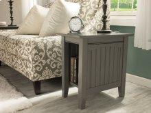 Nantucket Chair Side Table Atlantic Grey