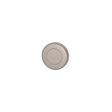 Blank Escutcheons In Satin Nickel