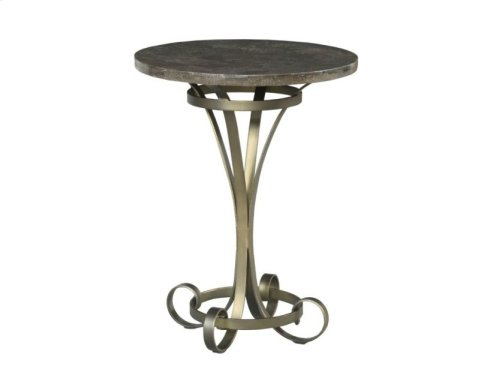 Louise Round Lamp Table