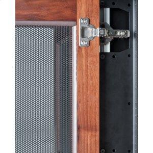 "Salamander Designs10-U Rack Mount Brackets for Synergy 20\"" Cabinet with Doors, Set of 2"