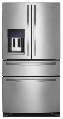 FLOOR MODEL  1 ONLY 36-inch Wide French Door Refrigerator with External Refrigerated Drawer - 25 cu. ft.