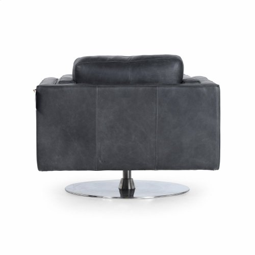 Natural Washed Ebony Cover Locke Chair