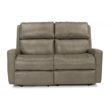 Catalina Leather Reclining Loveseat