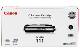 Canon Cartridge 111 Black Cartridge 111 Black