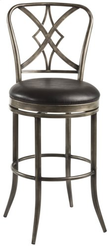 Jacqueline Commercial Grade Swivel Counter Stool