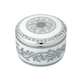 Porcelain Round Pill Box 55 Mm