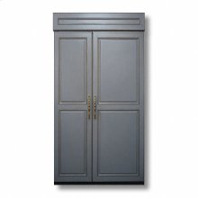 """42"""" Custom Panel Side-by-Side with Internal Ice Maker"""