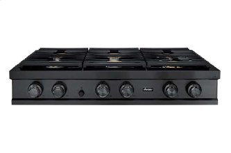 """48"""" Rangetop, Graphite Stainless Steel, Natural Gas"""