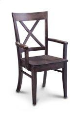 Maxwell Arm Chair, Fabric Cushion Seat
