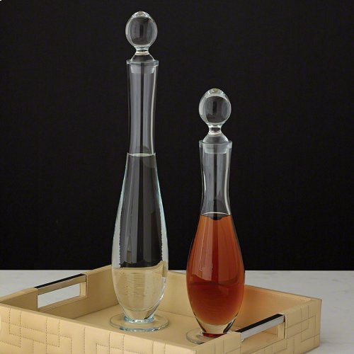 Elegant Glass Bottle-Lg