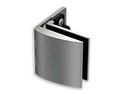 Inset Glass Door Hinge (w/catch)