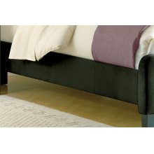 Fabric Universal Side Rail - Cal King Pewter
