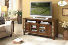 "60"" TV Stand with Slate Decor Product Image"