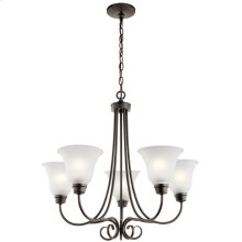 Bixler 5 Light Chandelier with LED Bulbs Olde Bronze®