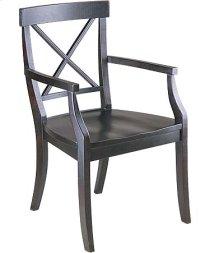 La Croix Arm Chair w/ Wood Seat
