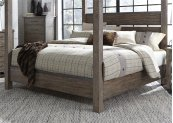 King Poster Headboard & Footboard
