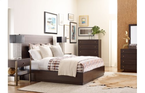 Austin by Rachael Ray Panel Bed, Ca. King 6/0