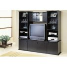 TV STAND - BLACK WALL UNIT Product Image