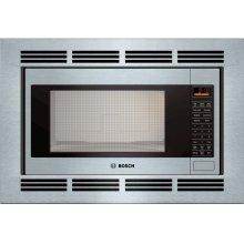 500 Series Built-In Microwave Oven 24'' Stainless steel, Door Hinge: Left
