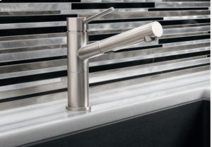 Blanco Alta Compact Pull-out Dual - Polished Chrome