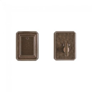 Hammered Dead Bolt - DB30490 Silicon Bronze Brushed Product Image
