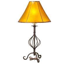 Forged Iron Table Lamp 019 (without shade)