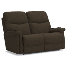 Baylor Power Wall Reclining Loveseat w/ Headrest & Lumbar