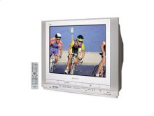 "27"" Diag. Triple Play TV/DVD/VCR Combination"
