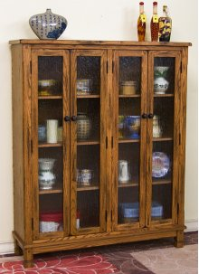 Sedona 4 Doors Bookcase