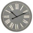 Grey Wall Clock Product Image
