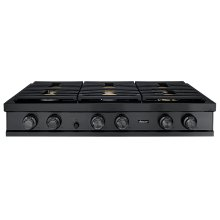 "48"" Rangetop, Graphite Stainless Steel, Natural Gas"