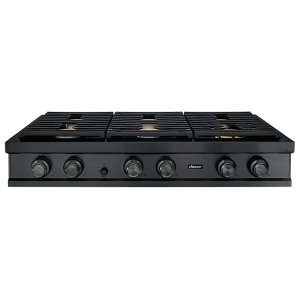 "Dacor48"" Rangetop, Graphite Stainless Steel, Natural Gas"