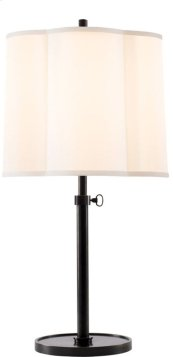 Visual Comfort BBL3023BZ-S Barbara Barry Simple 26 inch 150 watt Bronze Decorative Table Lamp Portable Light