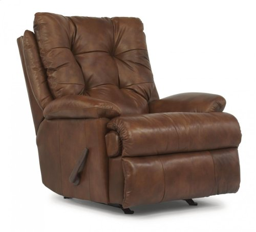 Clarke Leather or Fabric Rocking Recliner