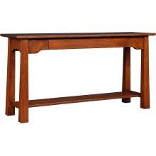 Oak Park Slope Console Table
