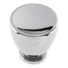 Conga Knob 1 1/4 inch - Polished Chrome