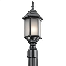 Chesapeake Collection Chesapeake 1 Light Outdoor Post BK