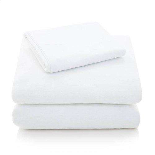 Portuguese Flannel - Queen Pillowcase Oatmeal