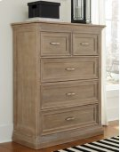Sonoma 5 Drawer Chest Weathered Gray Product Image