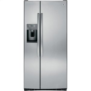 GE® 23.2 Cu. Ft. Side-By-Side Refrigerator - STAINLESS STEEL