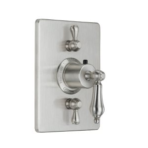 Coronado Styletherm (R) Trim Only With Dual Volume Control - Rustico Bronze