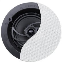 "RSF-610 6.5"" 2-Way Ceiling Speaker with Designer Edgeless Bezel Grille"
