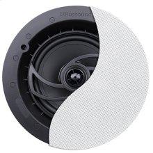 "RSF-610 6.5"" 2-Way Ceiling Speaker with Designer Edgeless Bezel Grille"